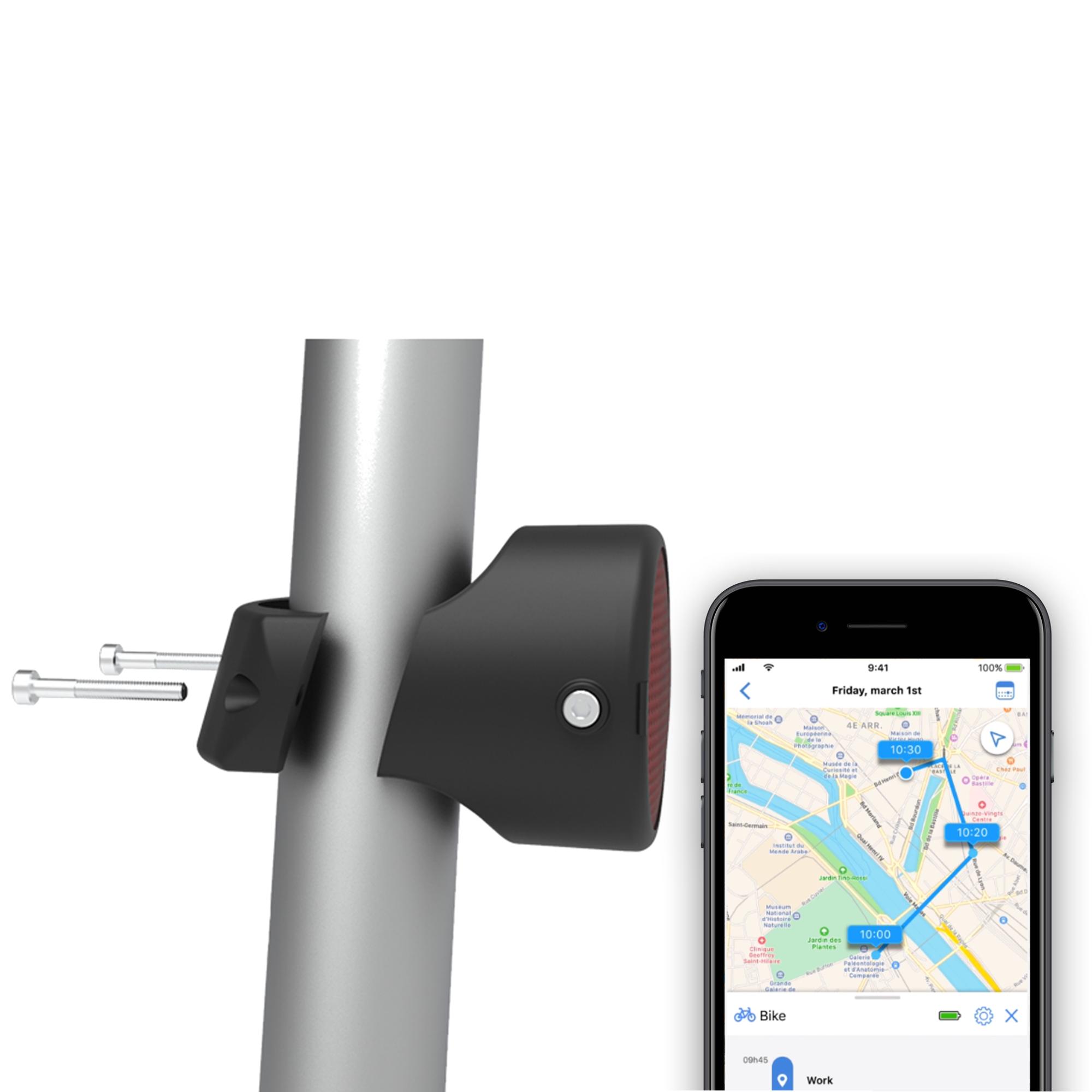 Invoxia Fiets GPS Tracker